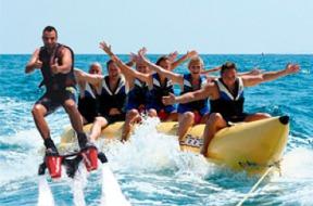 Flyboard + Banana Boat