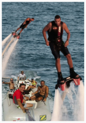 Flyboard 2 people