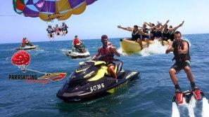 Parasailing Motos de agua Flyboard