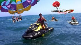 parasailing + moto de agua