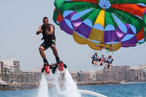 Flyboard + Parasailing