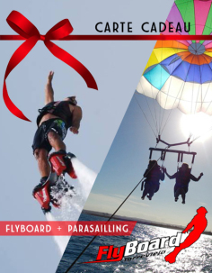 FLYBOARD, PARASAILLING, PARACHUTE, SPORT, LA MER